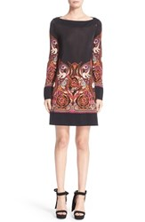 Versace Women's Baroque Print Jersey Dress