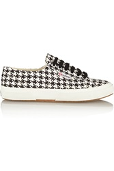 Superga Houndstooth Canvas Sneakers