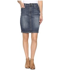 Stetson Pencil Denim Skirt Blue Women's Skirt