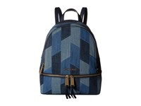 Michael Michael Kors Rhea Zip Small Backpack Multi Blue Backpack Bags