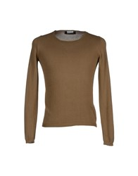Bafy Knitwear Jumpers Men Military Green