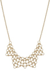 Kiomi Necklace Matt Goldfarben