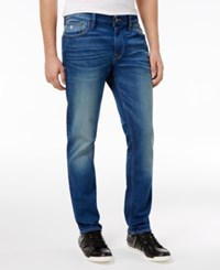 Guess Men's Slim Fit Tapered Jeans Briliant Blue Wash