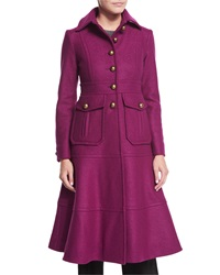 Nanette Lepore A Line Long Wool Coat