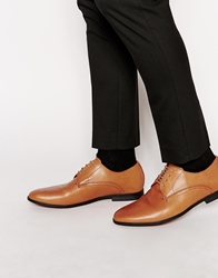 Frank Wright Sheen Derby Shoes Tan