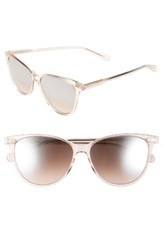Bobbi Brown Women's The Patton 55Mm Gradient Cat Eye Sunglasses Crystal Nude Crystal Nude
