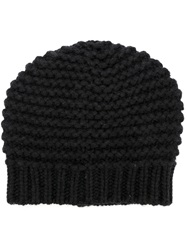 Brunello Cucinelli Knitted Beanie Black