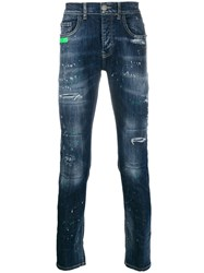 Frankie Morello Distressed Detail Jeans 60