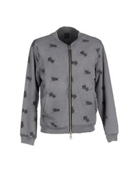 Jijil Coats And Jackets Jackets Men Grey