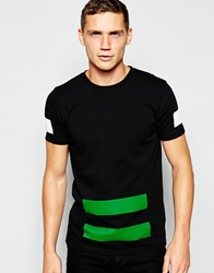 Han Kjobenhavn Han T Shirt With Colour Block Black