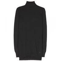 Balenciaga Cashmere Turtleneck Sweater Noir