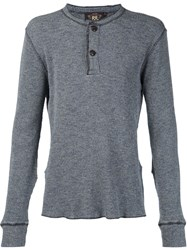 Rrl Henley Long Sleeve T Shirt