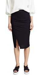 Splendid 2X1 Rib Skirt Black