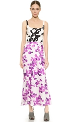 Narciso Rodriguez Watercolor Floral Dress Multi