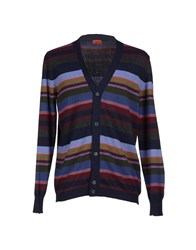 Gallo Knitwear Cardigans Dark Blue