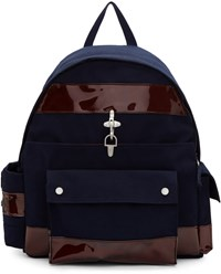 Raf Simons Navy Eastpak Edition Functional Backpack