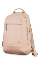 Vessel Mini Faux Leather Backpack Pink Rose Pink