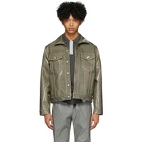 Eytys Taupe Denim Buck Tar Jacket