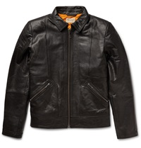 Nudie Jeans Johnny Leather Jacket Black