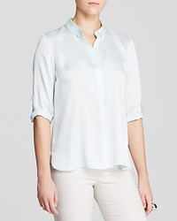 T Tahari Jordyn Color Block Blouse