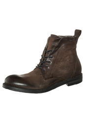 A.S.98 Laceup Boots Wood Dark Brown