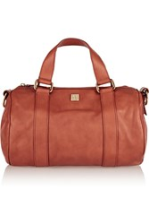 M Missoni Textured Leather Duffle Bag