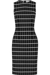 Narciso Rodriguez Printed Stretch Cotton Dress Black