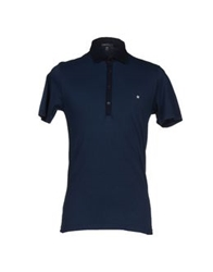 Macchia J Polo Shirts Dark Blue