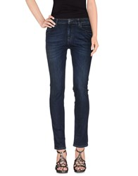 Prada Denim Denim Trousers Women Blue