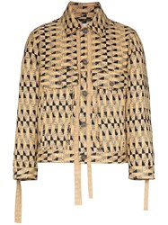 Song For The Mute Fringed Woven Jacket 60