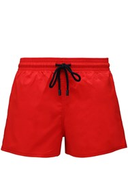 Vilebrequin Man Recycled Fabric Swim Shorts Red