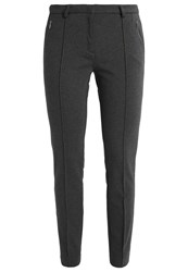 More And More Hedy Tracksuit Bottoms Stone Melange Grey