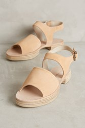 Anthropologie Sa Flatform Electric Blue Peach