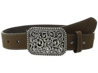 Ariat Flowers Belt Little Kids Big Kids Brown Women's Belts