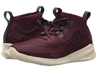 New Balance Cypher Oxblood Angora Running Shoes Brown