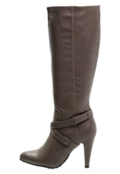 Anna Field Boots Taupe