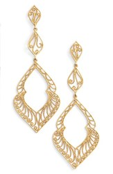 Argentovivo Women's Argento Vivo Marquee Drop Earrings