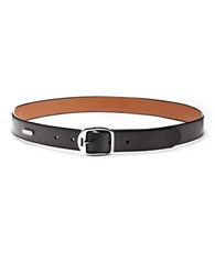 Lauren Ralph Lauren Genuine Leather Belt Black