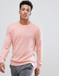 Abercrombie And Fitch Core Icon Moose Logo Crewneck Sweatshirt In Light Pink Light Pink