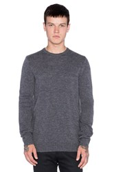 Stussy Mohair Sweater Charcoal