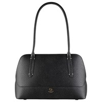 Radley Kennington Leather Medium Shoulder Bag Black