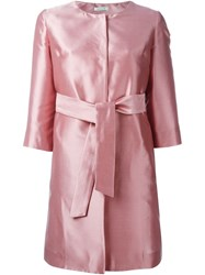 P.A.R.O.S.H. 'Pulp' Coat Pink And Purple