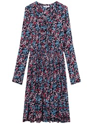 Gerard Darel Margaux Dress Blue Multi