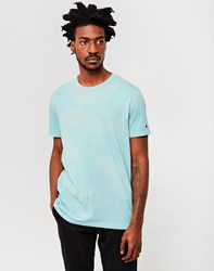 Champion Garment Dyed Classic T Shirt Light Blue