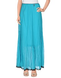 22 Maggio Skirts Long Skirts Women Turquoise