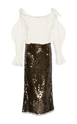 Rejina Pyo Chrissie Sequin Dress Black White