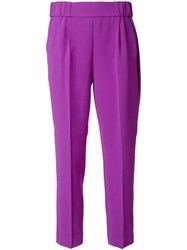 Boutique Moschino Tailored Trousers Pink Purple