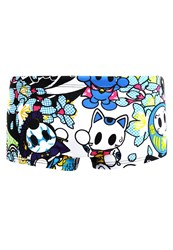 Arena Manga Swimming Shorts White Multi Multicoloured