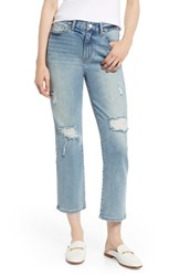 Habitual Haven High Waist Straight Leg Jeans Basswood