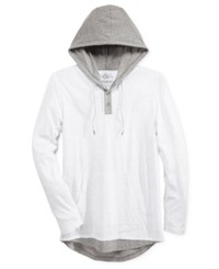 American Rag Men's Twofer Hoodie Only At Macy's Bright White